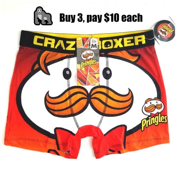 8646c4ef8e5584 Crazy Boxers Underwear & Socks   Crazy Boxer Mens Briefs Sz M ...
